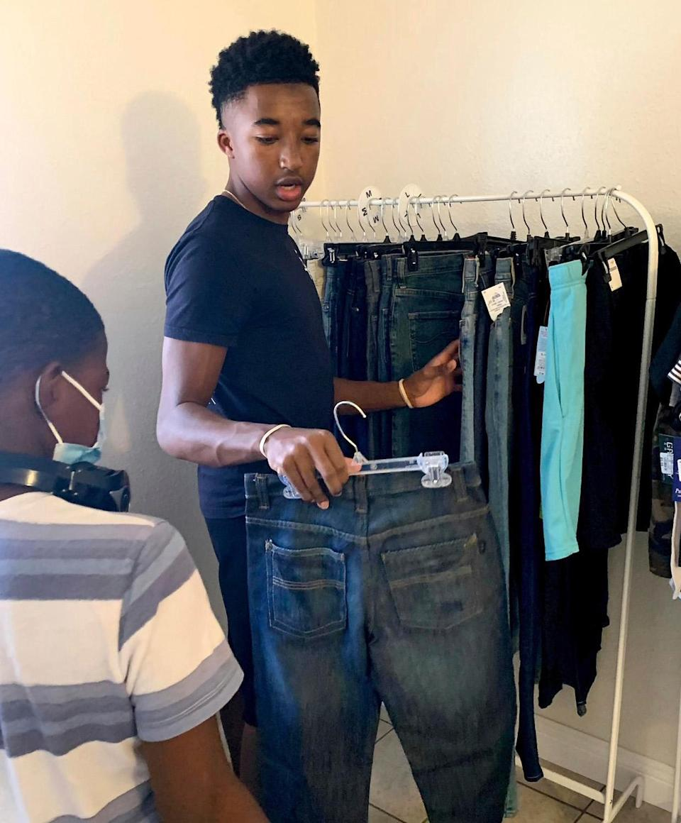 """<p>Four years ago, after a new foster brother arrived at Nijel Murray's home holding only a trash bag of ill-fitting clothes, the fashion-loving high school senior had an epiphany.</p> <p>""""I really felt for him and the other kids who have to go through that,"""" says the Las Vegas native. """"I thought I could do something to change things.""""</p> <p>With the help of his parents, he launched <a href=""""https://www.klothes4kidslv.org/"""" rel=""""nofollow noopener"""" target=""""_blank"""" data-ylk=""""slk:Klothes 4 Kids"""" class=""""link rapid-noclick-resp"""">Klothes 4 Kids</a>, a nonprofit that supplies clothing, toiletries, books, toys and other essentials — all stuffed into brand-new duffel bags — for children in foster care. In partnership with local social service agencies, Murray has distributed more than 2,000 bags.</p> <p>""""It's made me more grateful for what I have,"""" says Murray, who plans to study business at UNLV and hopefully expand K4K's reach. """"And it gives me joy to provide for others.</p>"""