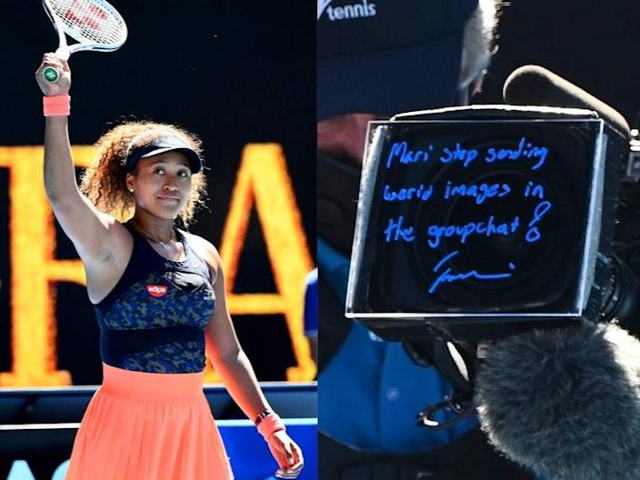 Naomi Osaka sends message to her sister after winning match against Serena Williams  (Getty)