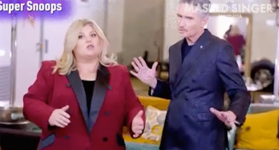 the masked singer exposed ursula carlson and dave hughes