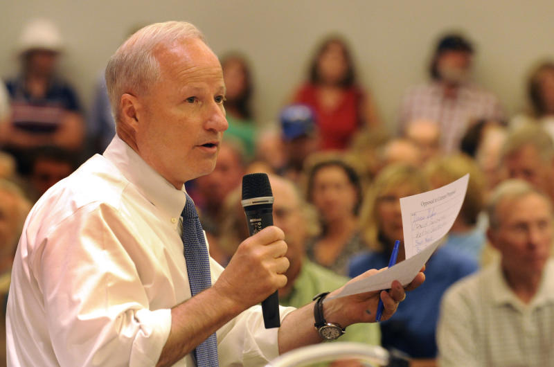 """A spokesman for Colorado Rep. Mike Coffman (above) said the Republican lawmaker had """"no interest"""" in attending the town hall. (Karl Gehring via Getty Images)"""