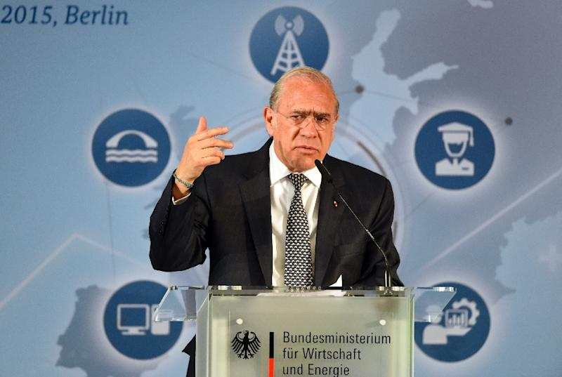 "OECD Secretary General Angel Gurria says levels of inequality in the world's most advanced economies have reached ""tipping point"" (AFP Photo/Tobias Schwarz)"