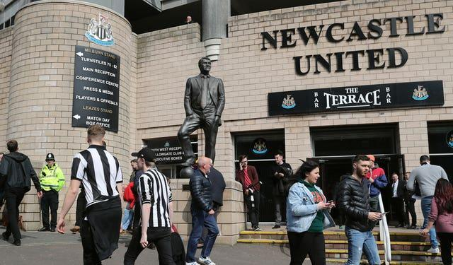 St James' Park has started to look tired