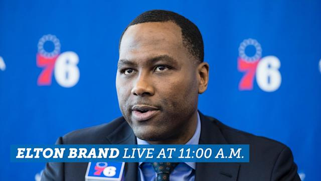 Elton Brand speaks alongside the new and returning Sixers free agents after the team's wild week.