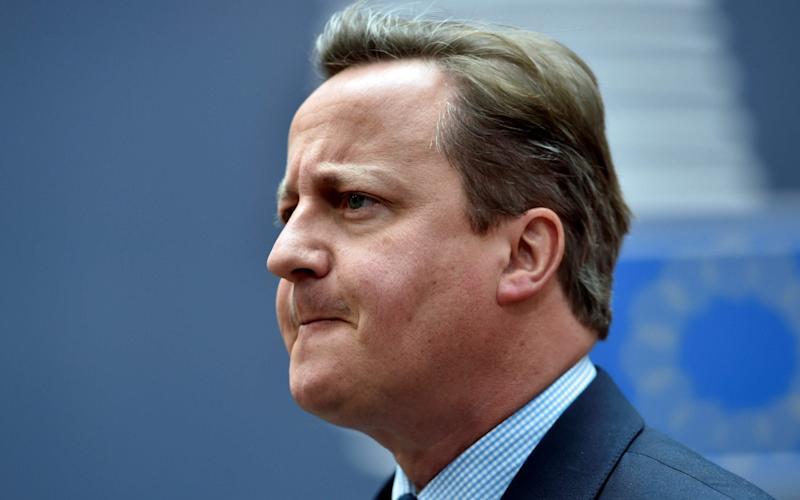 David Cameron had a troubled track record at EU summits when he was prime minister. - AFP