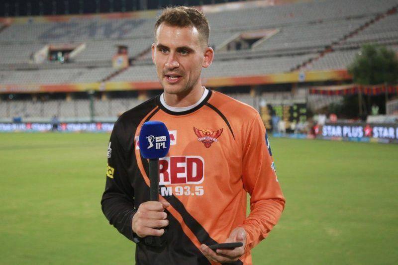 Alex Hales played for Sunrisers Hyderabad as a replacement player in IPL 2018