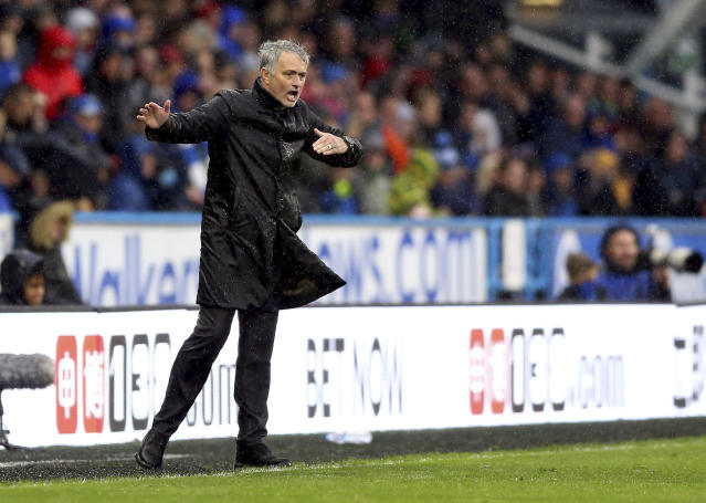 Jose Mourinho was more impressed with Huddersfield's attitude than Manchester United's on Saturday,