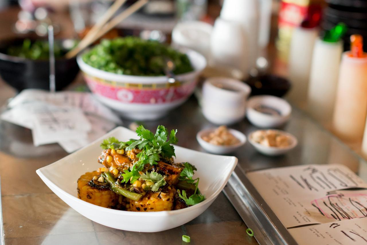 It's hard to imagine Bostonians adoring Myers + Chang's dim sum brunch more than they already do, but its dynamic menu means enthusiasm continues to rise 12 years after the restaurant opened in South End. Its creative takes on Taiwanese, Chinese, Thai, and Vietnamese soul and street foods liberate guests from expectations about what it means to brunch. Of all the dishes, Mama Chang's browned pork and chive dumplings speak to the soul of the restaurant—start there.