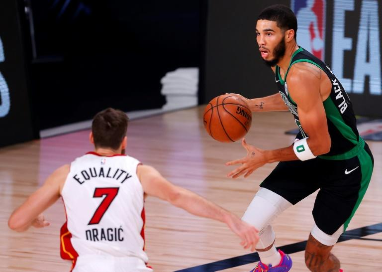 Celtics rally to beat Heat, stay alive in NBA playoffs
