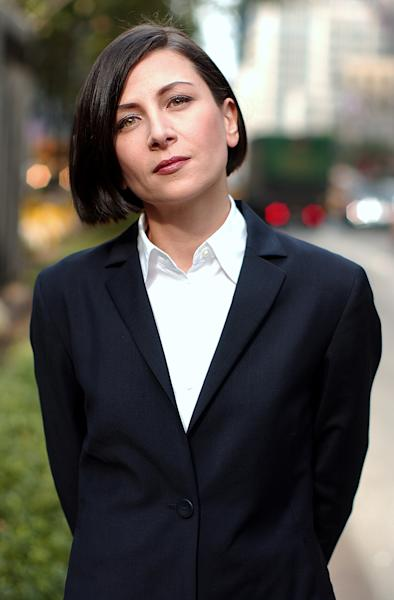 "FILE - This Oct. 7, 2002 file photo shows author Donna Tartt in New York. Tartt's ""The Goldfinch"" won the Pulitzer Prize for fiction on Monday, April 14, 2014. (AP Photo/Gino Domenico, File)"