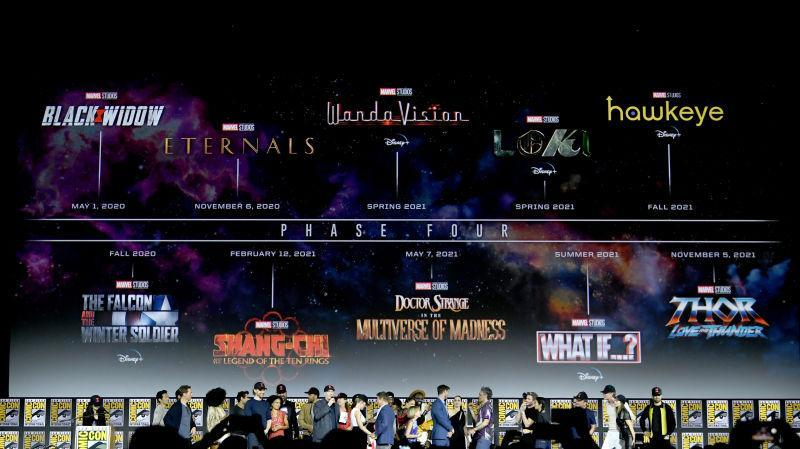 Marvel Studios' Phase Four plans from an alternate universe