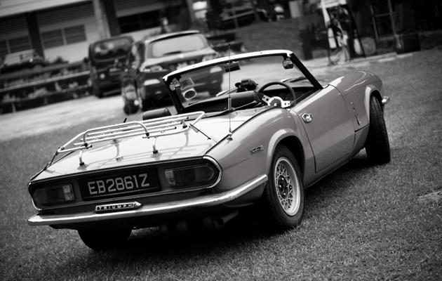 The Spitfire was Triumph's first foray into the budget sports car market.