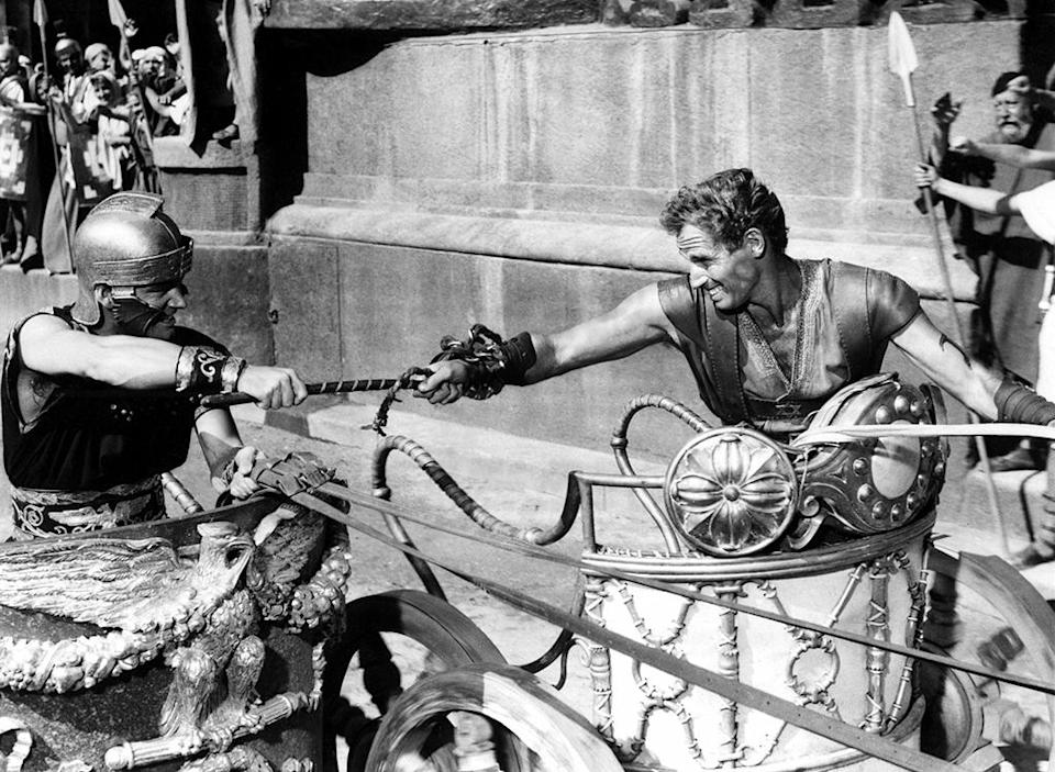 <p>The biblical epic owned the Oscar record for most wins (including Best Picture, Best Director for William Wyler, and Best Actor for Charlton Heston) for an astounding 44 years when it dominated the 1960 Academy Awards. That was until. … (Photo: Everett) </p>