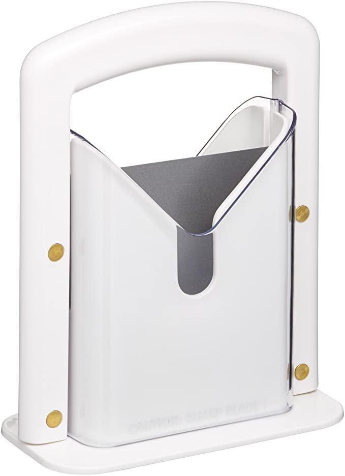 """<h2>Hoan The Original Bagel Guillotine</h2><br><strong>Best Used for:</strong> Slicin' & dicin' bagels in seconds<br><br><strong>The Hype:</strong> 4.8 out of 5 stars and 5,361 ratings<br><br><strong>Practical Peeps say:</strong> """"Picked this up because my heart could no longer take the stress of watching our 11 year old daughter slice bagels. This not-so-little little device slices through every single bagel, every single time — and my kid goes through kicks where she'll eat two or three each day. I no longer worry about serious cuts even though the (covered) blade on this thing is SHARP!""""<br><br><em>Shop</em> <strong><em><a href=""""https://amzn.to/36NCXkW"""" rel=""""nofollow noopener"""" target=""""_blank"""" data-ylk=""""slk:Amazon"""" class=""""link rapid-noclick-resp"""">Amazon</a></em></strong><br><br><strong>Hoan</strong> The Original Bagel Guillotine, $, available at <a href=""""https://amzn.to/3eF0mco"""" rel=""""nofollow noopener"""" target=""""_blank"""" data-ylk=""""slk:Amazon"""" class=""""link rapid-noclick-resp"""">Amazon</a>"""