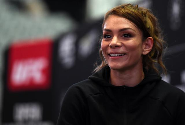 Nicco Montaño now holds the dubious distinction of being the largest underdog a UFC champion has ever been for her fight against Valentina Shevchenko. (Getty Images)
