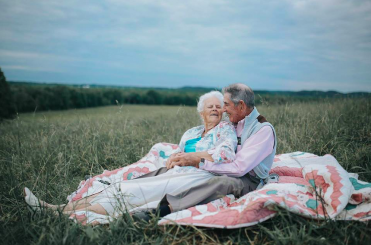 Donald and Ollie have been married for almost 68 years [Photo: Facebook/ Love What Matters]