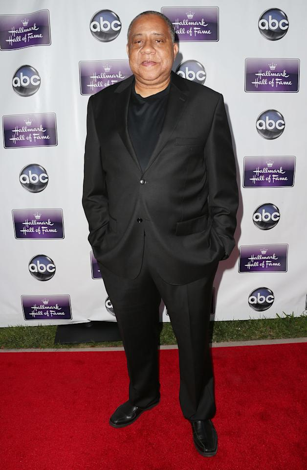 """CENTURY CITY, CA - APRIL 17: Actor Barry Shabaka Henley attends the premiere of Disney ABC Television and The Hallmark Hall of Fame's """"Remembering Sunday"""" at the Fox Studio Lot on April 17, 2013 in Century City, California.  (Photo by Frederick M. Brown/Getty Images)"""