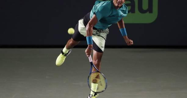 Tennis - ATP - Miami - Nick Kyrgios se qualifie en deux temps à Miami