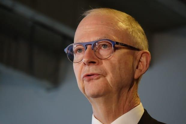 Ches Crosbie will be stepping down as leader of the PC Party. (Patrick Butler/Radio-Canada - image credit)