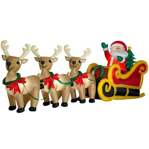 7 reasons to skip those inflatable prefab christmas decorations - Cheap Inflatable Christmas Decorations