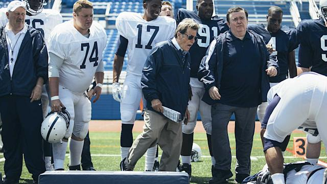 "Academy Award winning director Barry Levinson discusses the HBO movie ""Paterno,"" which focuses on Joe Paterno's final days as Penn State's head coach."