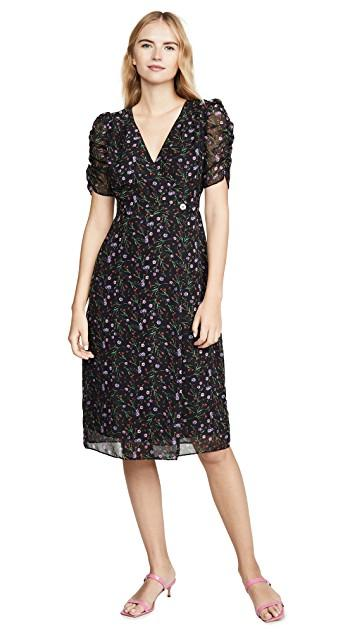 You can never go wrong with a figure-flattering wrap dress. (Photo: Shopbop)