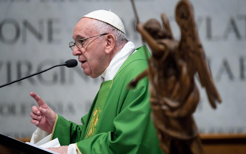 Francis has been trying to improve financial transparency since the start of his papacy - Shutterstock