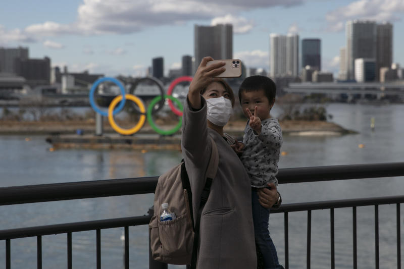 Organizers insist that canceling the Tokyo games is not a consideration. (AP Photo/Jae C. Hong, File)