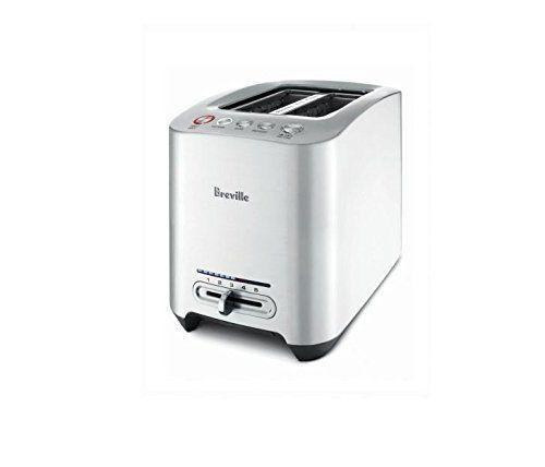 """<p><strong>Breville</strong></p><p>amazon.com</p><p><strong>$129.95</strong></p><p><a href=""""https://www.amazon.com/dp/B00140SC64?tag=syn-yahoo-20&ascsubtag=%5Bartid%7C10055.g.4921%5Bsrc%7Cyahoo-us"""" rel=""""nofollow noopener"""" target=""""_blank"""" data-ylk=""""slk:Shop Now"""" class=""""link rapid-noclick-resp"""">Shop Now</a></p><p>The Breville Die-Cast 2 Slice Toaster was the top model in our test. It's worth every cent if you're looking for a champion toaster that <strong>will turn out evenly golden brown slices of bread batch after batch</strong>. With the push of a button, the grates lower your toast automatically — no lever-pressing. It also features extra wide slots for bagels.</p><p>Use the Lift and Look setting to check on its progress; if it isn't browned to perfection, use the A Bit More feature to add extra time. A pull-out crumb tray on the base makes it easy to clean, although it is not dishwasher safe. Also worth noting that the sleek die-cast metal housing makes it major eye candy for your countertop. </p>"""