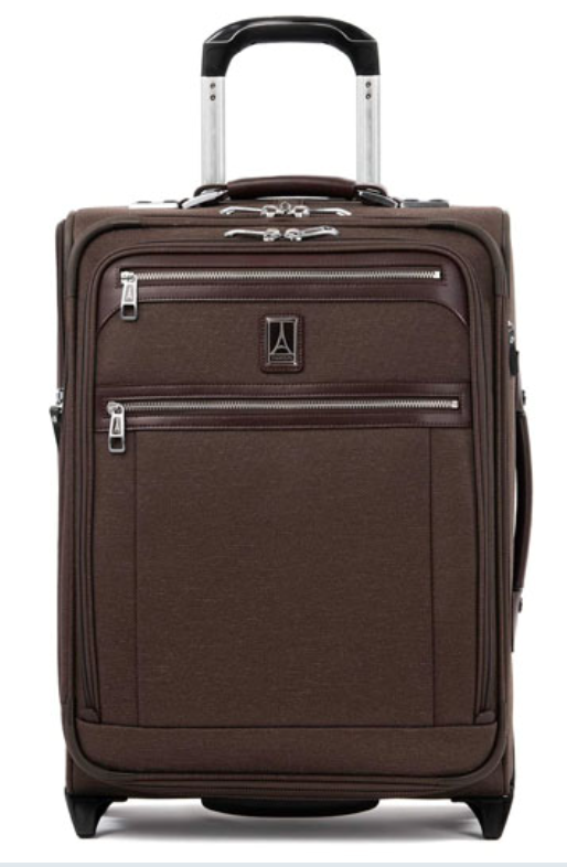 The Travelpro Platinum Elite Softside Expandable Upright has all the bells and whistles. (Photo: Amazon)