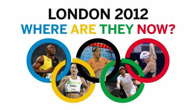 What happened next to the biggest stars of the London 2012 Olympic Games?