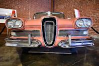 The 1956 Ford Edsel, displayed at The Museum of Failure in Los Angeles