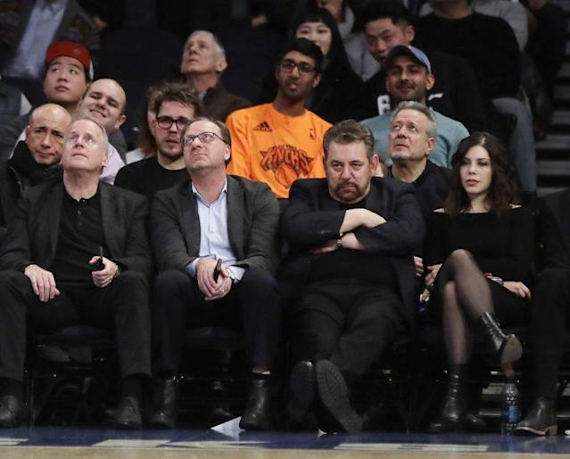 James Dolan is getting tired. (AP)