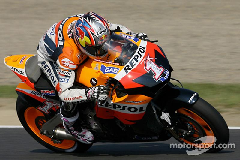 "2007: Nicky Hayden, Repsol Honda Team<span class=""copyright"">Honda Racing</span>"