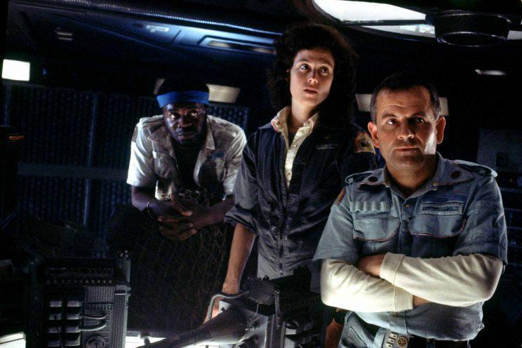 The performance of Ian Holm (r) as Ash in Alien got a shout out from Sheen. (Photo: 20th Century Fox)
