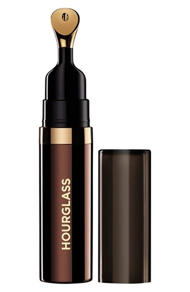 """<p>Like a luxurious response to plan old lipbalm, this treatment oil can be used throughout the day to not only provide moisture, but also fight against aging and <a rel=""""nofollow"""" href=""""http://www.brides.com/story/best-new-sunscreens-for-honeymoon?mbid=synd_yahoobeauty"""">protect your lips</a> from environmental stressors. An impressive 14 essential oils plus green tea, sweet almond and vitamins A, B5, C and E all pack a serious healing and hydrating punch. <em>(""""No. 28"""" lip treatment oil, $44, Hourglass available at <a rel=""""nofollow"""" href=""""http://shop.nordstrom.com/s/hourglass-no-28-lip-treatment-oil/3930502?mbid=synd_yahoobeauty"""">Nordstrom</a>)</em></p>"""