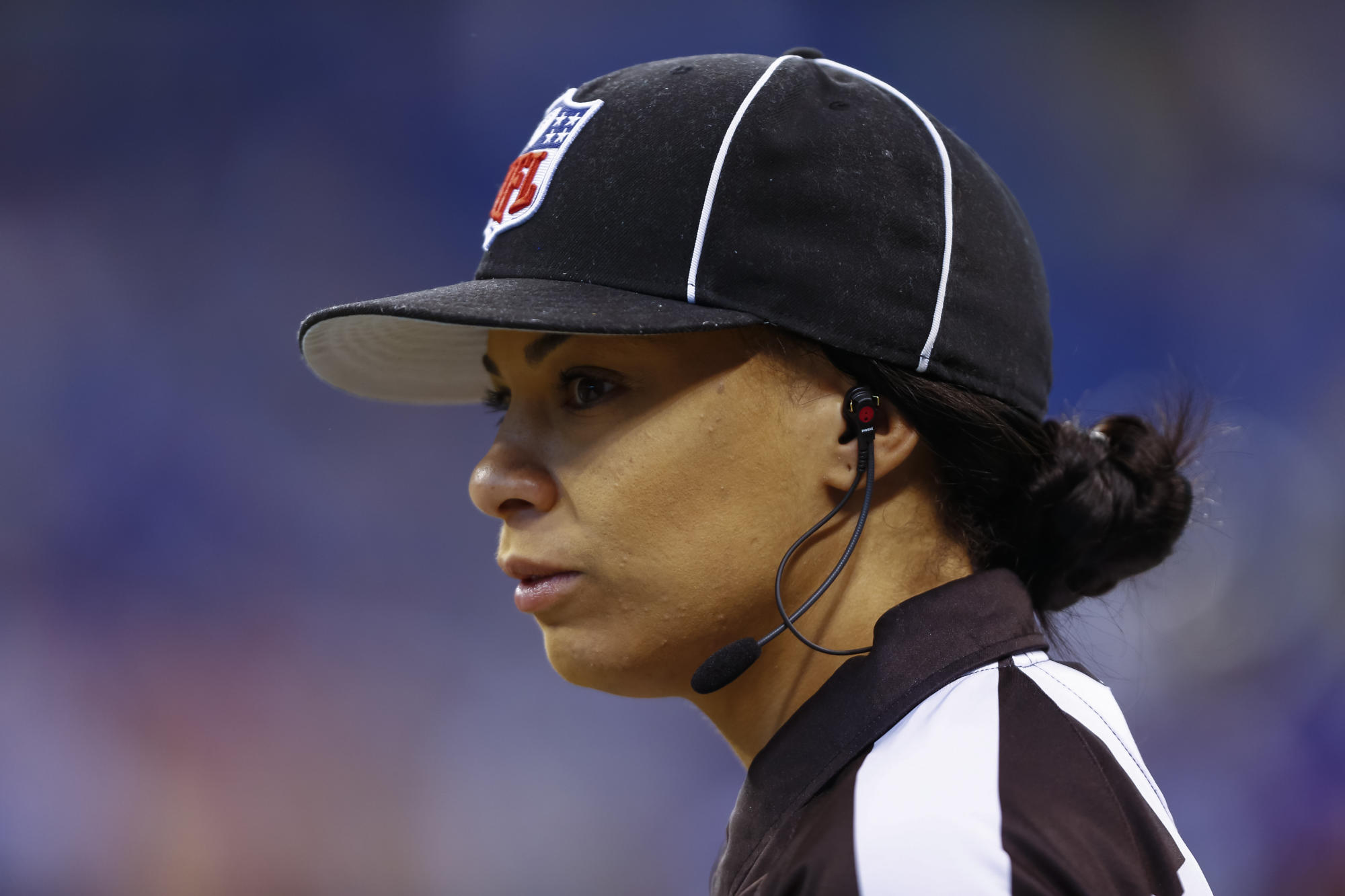 NFL names Maia Chaka to officiating crew, making her first Black female referee