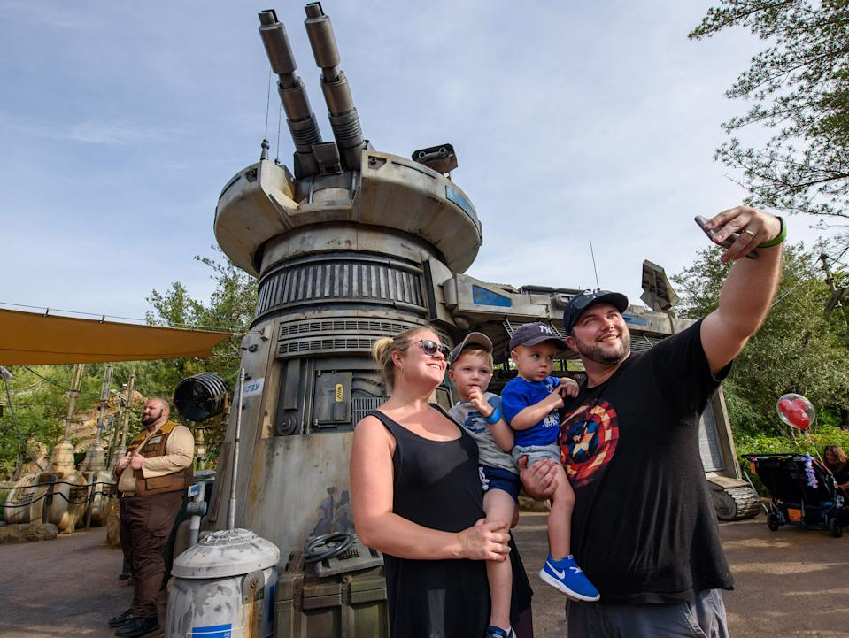 Star Wars: Rise of the Resistance at Disneyland Park in California. [Photo: Todd Anderson/ Disney]