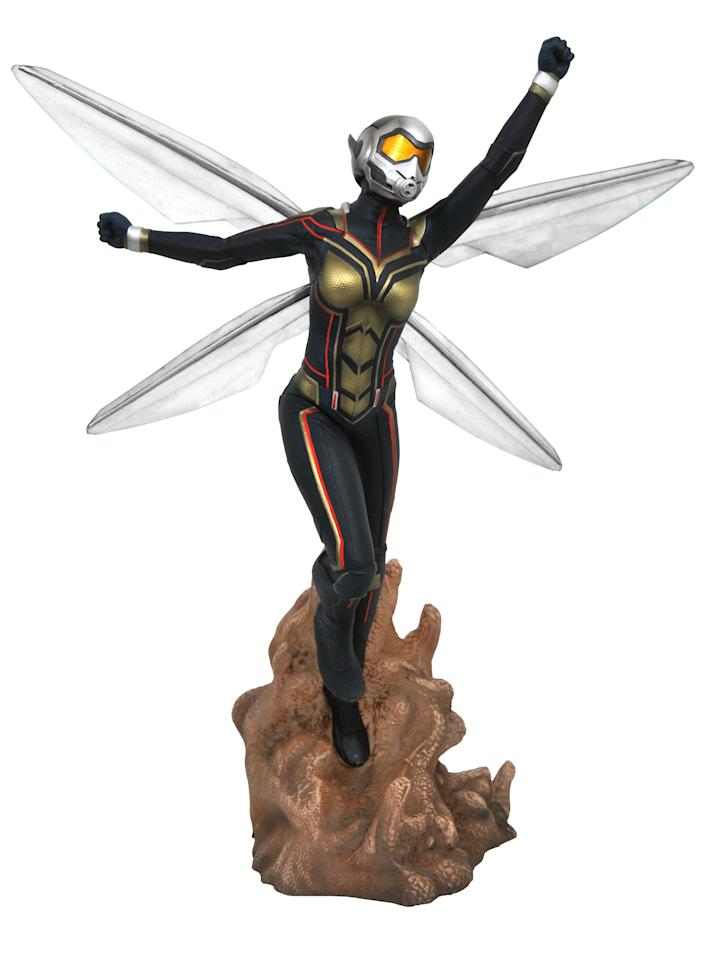 <p>The Wasp takes flight as the first female Marvel superhero to score title billing. $45 (Photo: Diamond Select Toys) </p>