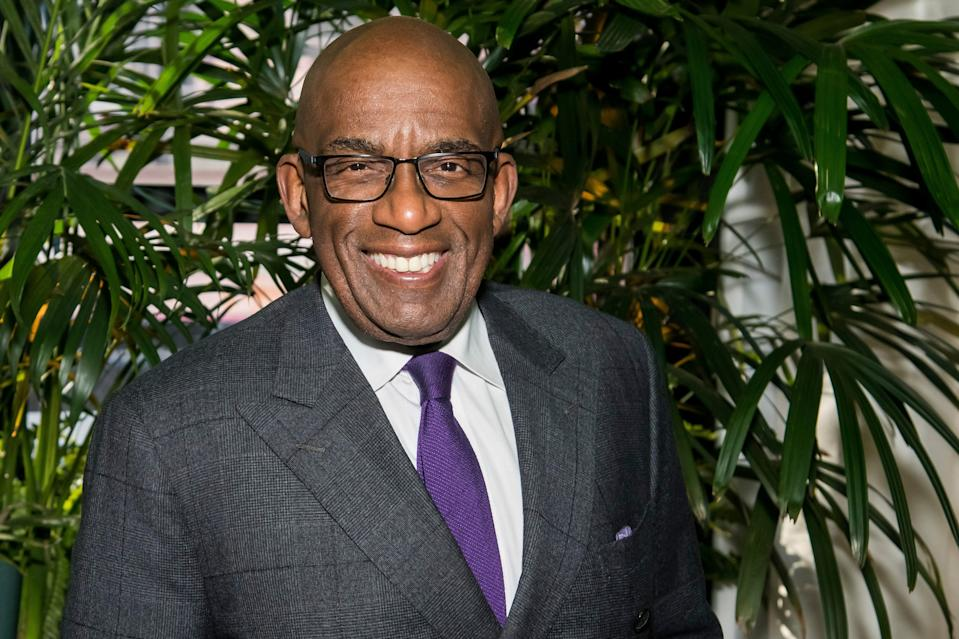 Al Roker attends Kathie Lee Gifford's farewell party on March 26, 2019, in New York.