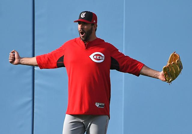 Matt Harvey will make his debut for the Cincinnati Reds on Friday night at Dodger Stadium. (Getty Images)