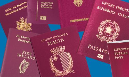 Has a member of your family applied for a different EU nationality?