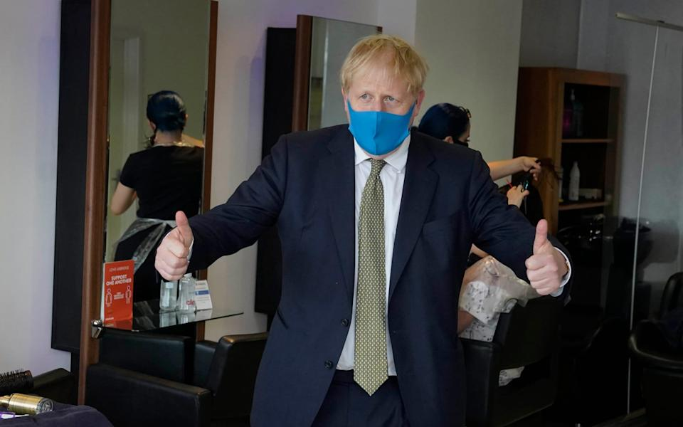 Boris Johnson  - Parsons media