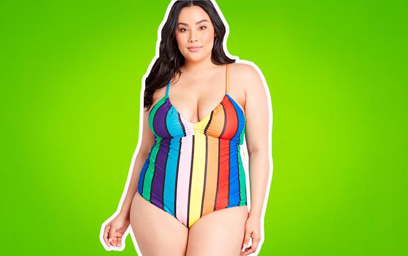 ba8b6dd652d19 Plus-size swimsuits under $75 that will make you feel like the queen of the  pool