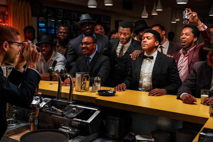 <p>While King has set aside time to direct episodes of several TV shows — including <em>Being Mary Jane</em>, <em>Scandal</em>, <em>This is Us</em> and <em>Shameless — </em>the star made her first feature film directorial debut with 2020's <em>One Night in Miami</em>, a fictional story that follows icons Malcolm X, Sam Cooke, Muhammad Ali and Jim Brown gathering to discuss their roles in the Civil Rights Movement.</p> <p>King is up for best director at this year's Golden Globes and her film is already an AFI Award winner for movie of the year. </p>