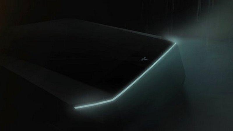 Elon Musk's futuristic 'cyberpunk' Tesla pickup truck could be launched in November