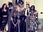 """<p><a href=""""https://people.com/tag/madonna/"""" rel=""""nofollow noopener"""" target=""""_blank"""" data-ylk=""""slk:Madonna"""" class=""""link rapid-noclick-resp"""">Madonna</a> is another momma on the list! </p> <p>Her children include <a href=""""https://www.harpersbazaar.com/celebrity/latest/a32982106/lourdes-leon-madonna-miaou-campaign/"""" rel=""""nofollow noopener"""" target=""""_blank"""" data-ylk=""""slk:Lourdes Leon"""" class=""""link rapid-noclick-resp"""">Lourdes Leon</a>, 24, Mercy James, 15; twins Stelle and Estere Ciccone, 8; and her sons, Rocco Ritchie, 20, and David Banda, 15. She became mom to Lourdes with former flame Carlos Leon and Rocco and David Banda with ex-husband <a href=""""https://people.com/tag/guy-ritchie/"""" rel=""""nofollow noopener"""" target=""""_blank"""" data-ylk=""""slk:Guy Ritchie"""" class=""""link rapid-noclick-resp"""">Guy Ritchie</a>. She adopted her three youngest daughters as a single mom.</p> <p>Back in 2017, Madonna offered a look into her personal and <a href=""""https://people.com/parents/madonna-life-six-kids-adoption-journey-complicated-worth-it/"""" rel=""""nofollow noopener"""" target=""""_blank"""" data-ylk=""""slk:family life for a PEOPLE cover story"""" class=""""link rapid-noclick-resp"""">family life for a PEOPLE cover story</a>, months after <a href=""""https://people.com/parents/madonna-decision-adopt-malawi-twins-estere-stella/"""" rel=""""nofollow noopener"""" target=""""_blank"""" data-ylk=""""slk:adopting her youngest two from Malawi"""" class=""""link rapid-noclick-resp"""">adopting her youngest two from Malawi</a>.</p> <p>""""It's inexplicable,"""" she said at the time of what drew her to her children. """"It's like saying, 'Why do you fall in love with the people you fall in love with?' You look into the eyes of somebody, you feel their soul, you feel touched by them — that's it.""""</p> <p>""""Sometimes I would just close my eyes and just think, 'Why isn't my kitchen <a href=""""https://people.com/babies/madonna-twins-dress-up-wigs/"""" rel=""""nofollow noopener"""" target=""""_blank"""" data-ylk=""""slk:filled with dancing children"""" class=""""link rapid-noclick-resp"""">filled with """