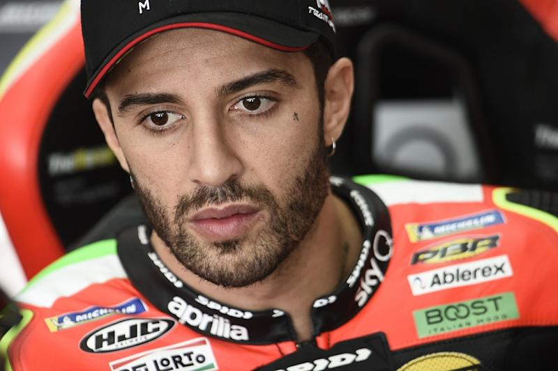 Iannone gets provisional ban after drugs test