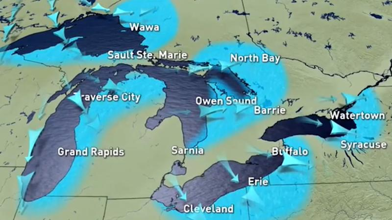 Great Lakes: Rare winter combination with consequences to come