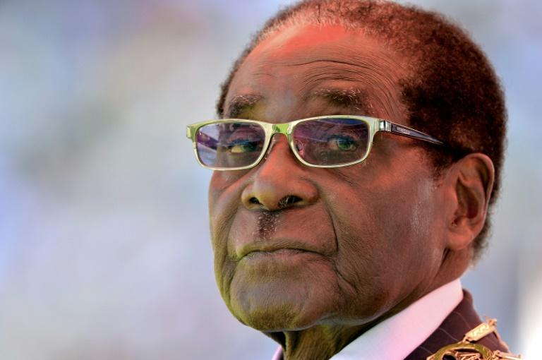 Former Zimbabwean president Robert Mugabe was forced to quit when the military briefly took power in November