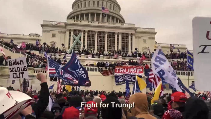 Video of Capitol riot